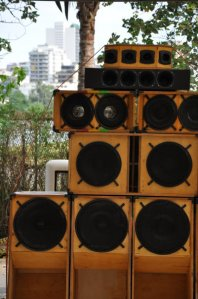 outdoor sound system