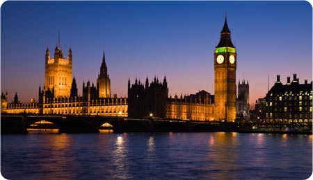 The Houses of Parliament, Westminster, London, England