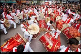 ganesha drumming