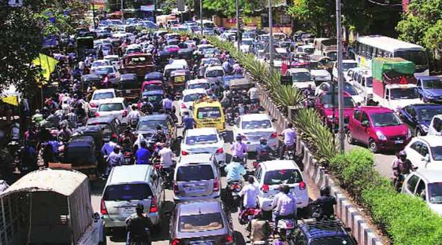traffic in india2