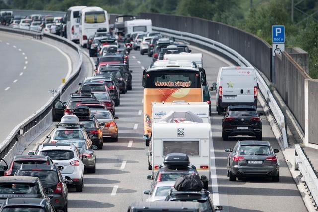 traffic in switzerland