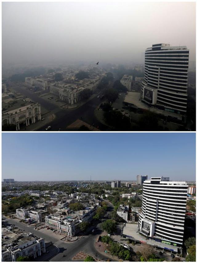 new delhi clear sky